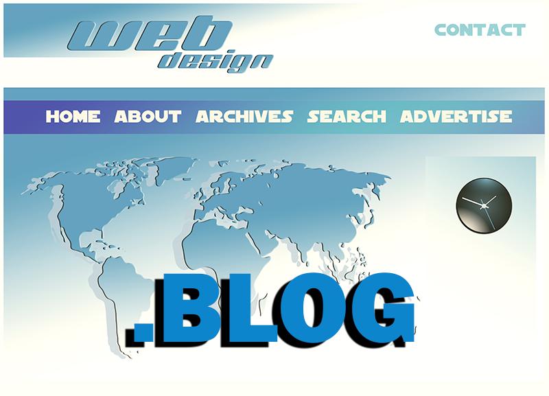Einführung .BLOG Domain
